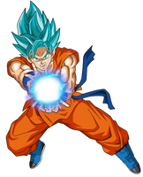 Goku SSGSS by SaoDVD