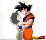 Love Saiyajin Goku-Gine