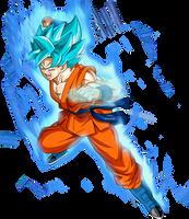 Goku SSGSS Power by SaoDVD