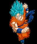 Goku SSGSS Run2