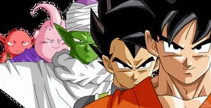 Goku,Vegeta (Team Beerus, Equipo de Bills)