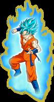 Goku SSGSS KI by SaoDVD