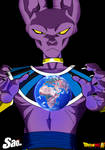 Beerus the Power of the God of Destruction