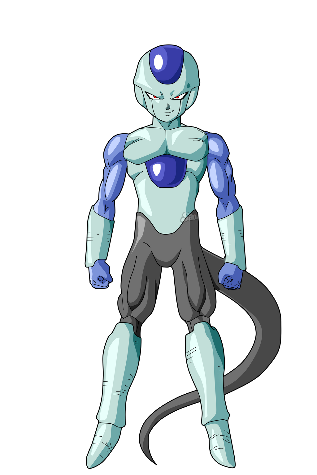 frost ultimate form by saodvd on deviantart