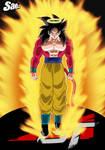 Goku SSJ4 Coming Back To Life - Poster