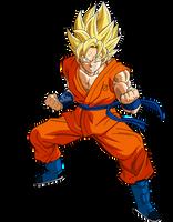 Goku SSJ Power 2 by SaoDVD