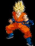 Goku SSJ Power 2
