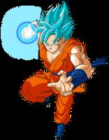 Goku SSGSS Power 5 by SaoDVD
