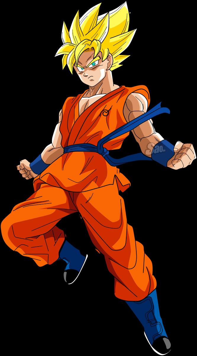 Goku SSJ DBS by SaoDVD on DeviantArt