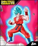 Goku SSGSS Kaioken X10