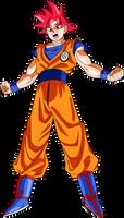 Goku SSG Power 2 by SaoDVD