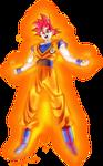 Goku SSG Power 3
