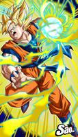Goku SSJ Poster by SaoDVD