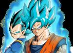 Goku And Vegeta SSGSS Old Time