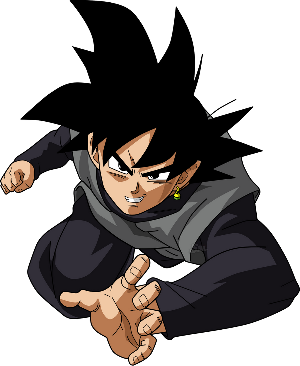 black goku el invencible enemigo de db super taringa. Black Bedroom Furniture Sets. Home Design Ideas