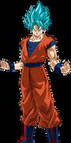Goku SSGSS Power 14 by SaoDVD