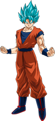 Goku SSGSS Power 14 by SaoDVD