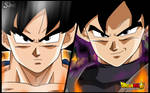 Goku Black Vs Goku