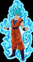 Goku SSGSS Power 15 by SaoDVD