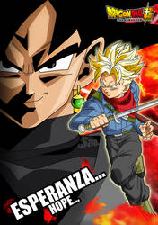 Trunks y Black - Poster Individual 1 by SaoDVD