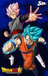 Goku VS Black - Poster