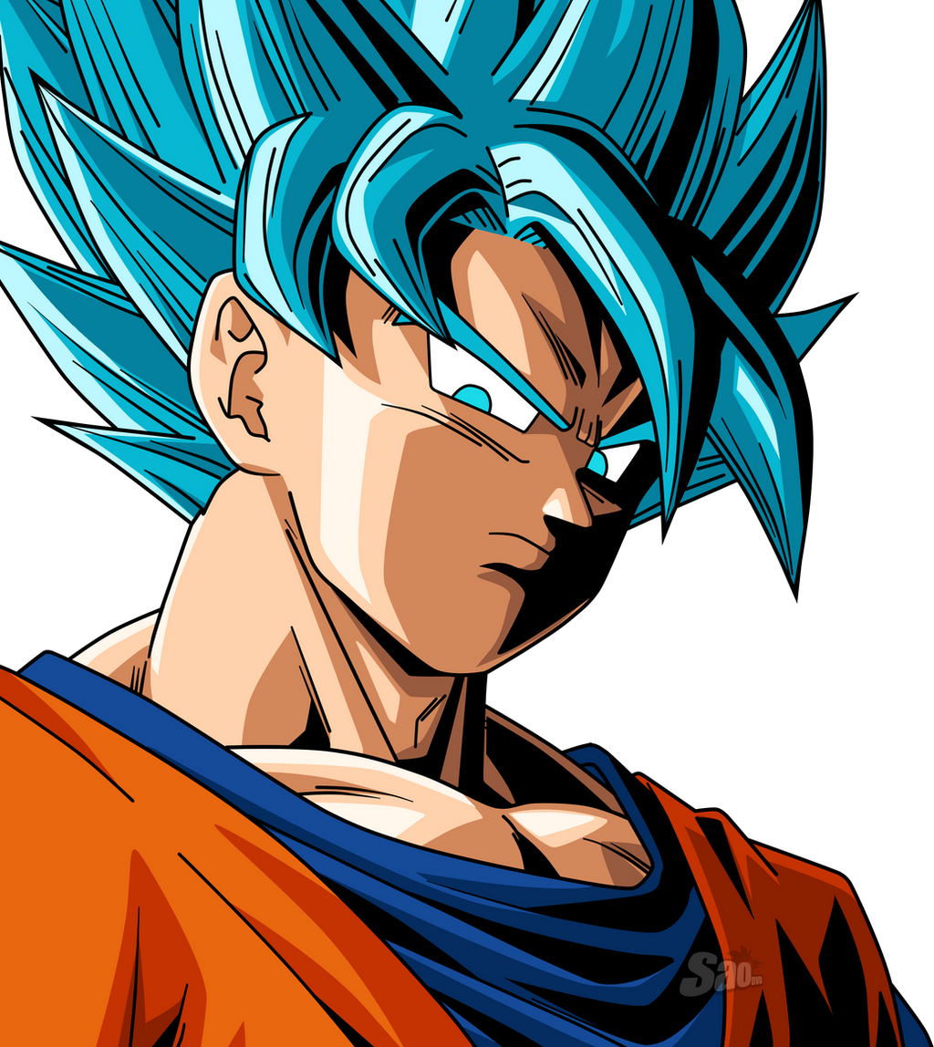 Goku SSJ Blue 3 by SaoDVD on DeviantArt
