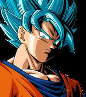 Goku SSJ Blue #3 by SaoDVD