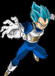 Vegeta SSJ Blue #2 by SaoDVD