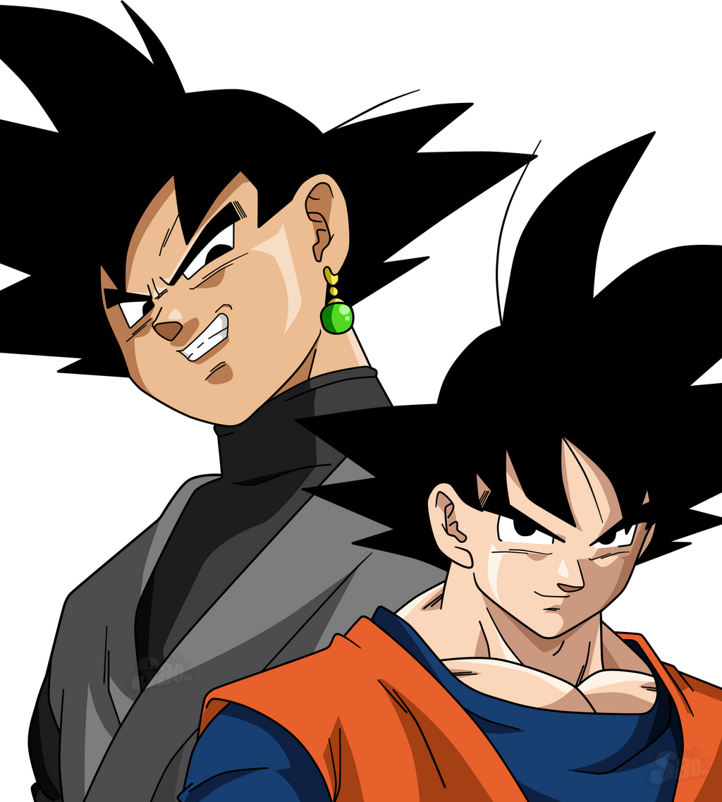 Goku Y Black By SaoDVD On DeviantArt
