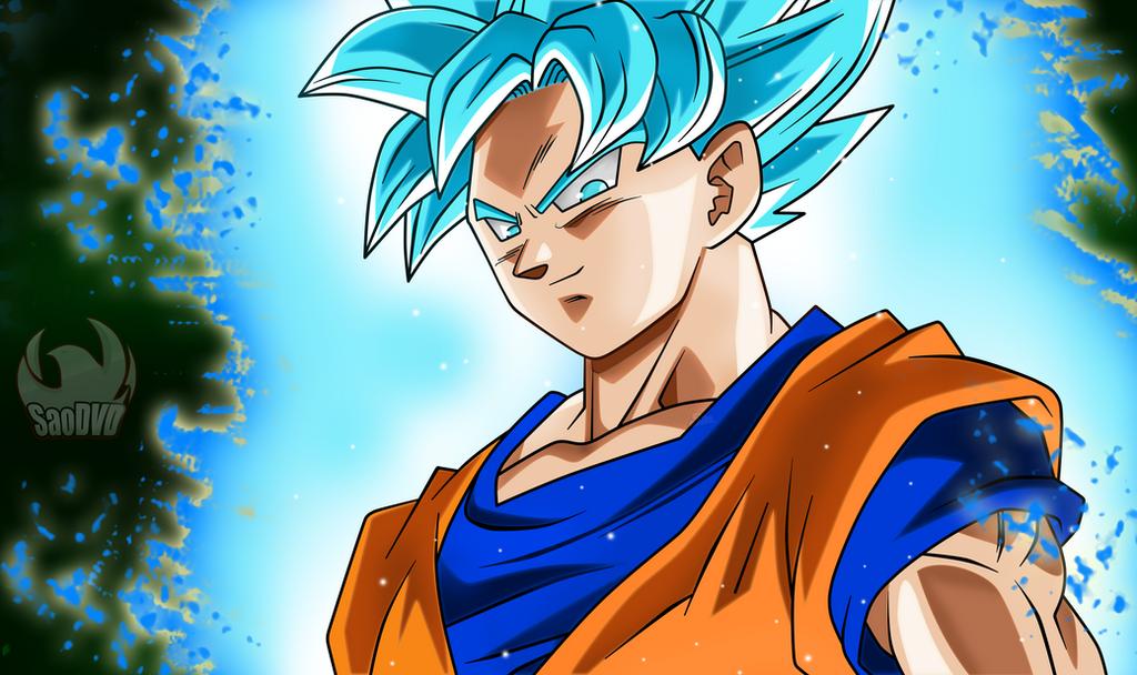 Goku SSJ Blue  Escenas by SaoDVD on DeviantArt
