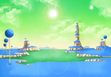 Saga of Freezer - Namek Screen by SaoDVD