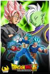 Saga of Black and Zamasu - Poster