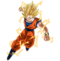 Goku Ssj2 by SaoDVD