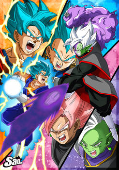 Saga of Black and Zamasu - Poster #2