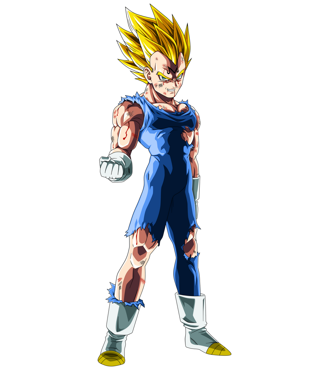 Characters who did awful shit but were properly redeemed - Majin vegeta pics ...