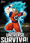Goku in Universe Survival - Poster