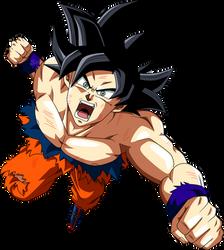 Goku Ultra Instinto by SaoDVD