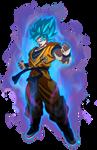 Goku Super Saiyajin Blue Movie 2018  by SaoDVD