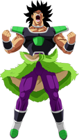 Broly Power Up by SaoDVD