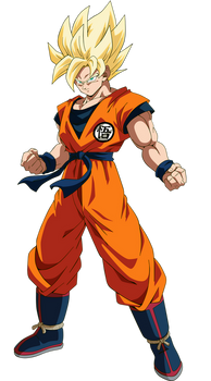 Goku - Dragon Ball Super Broly by SaoDVD