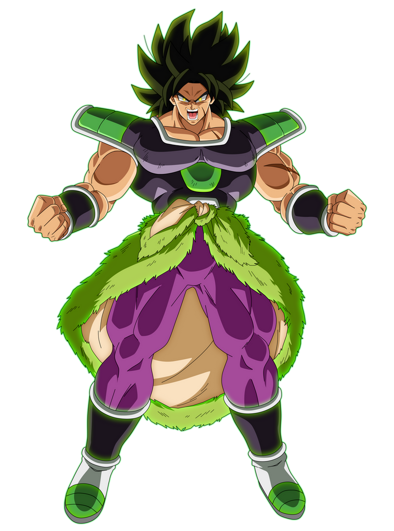 Broly Fury by SaoDVD