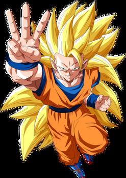 Goku Super Saiyajin 3