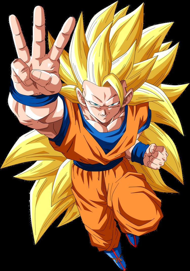 Goku Super Saiyajin 3 by SaoDVD