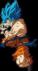 GOKU SSJ BLUE - BROLY