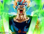 Goku Transformandose