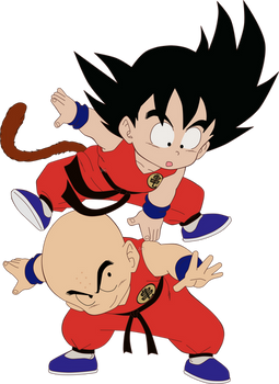 Goku y Krillin