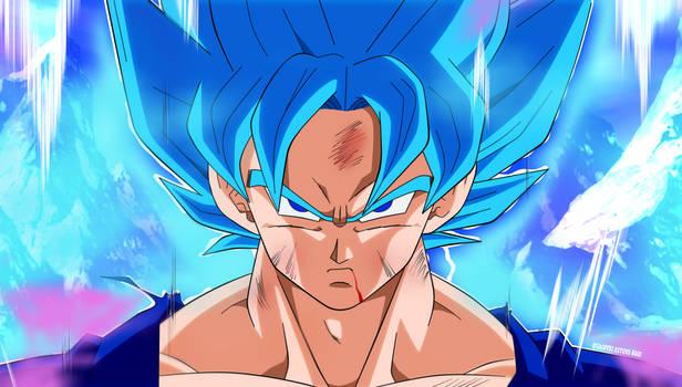 Goku Blue reDraw