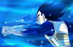 Dragon Ball Super Manga 71 - Vegeta entrenando