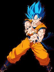 Goku Super Saiyan Blue - DB Super Broly