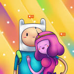 Finn X Bubblegum Princess